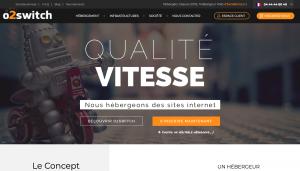 avis O2switch meilleur hebergeur web francais