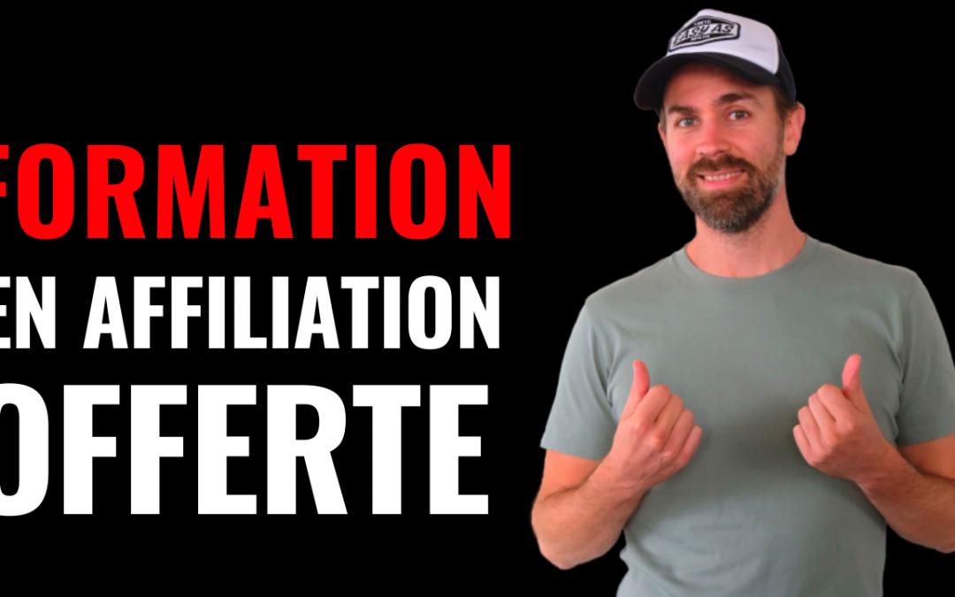 [OFFERT] Formation Affiliation: De 0 à 1407,47€ / mois
