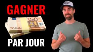 gagner 50 euros par jour